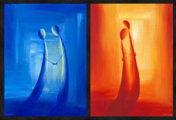 Figures Serie - Diptyque - Harmony